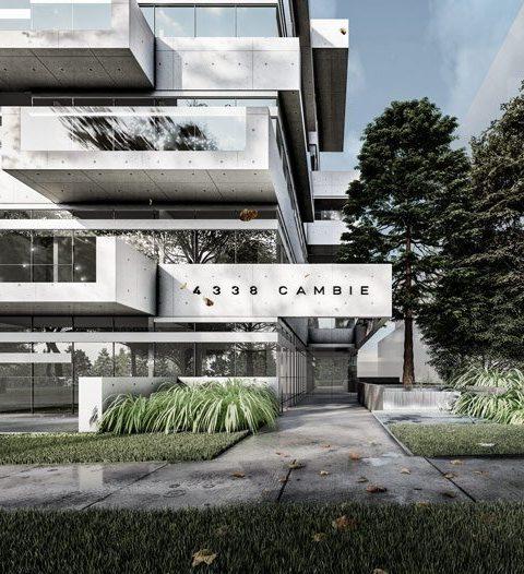 Slate Block Cambie Street rendering