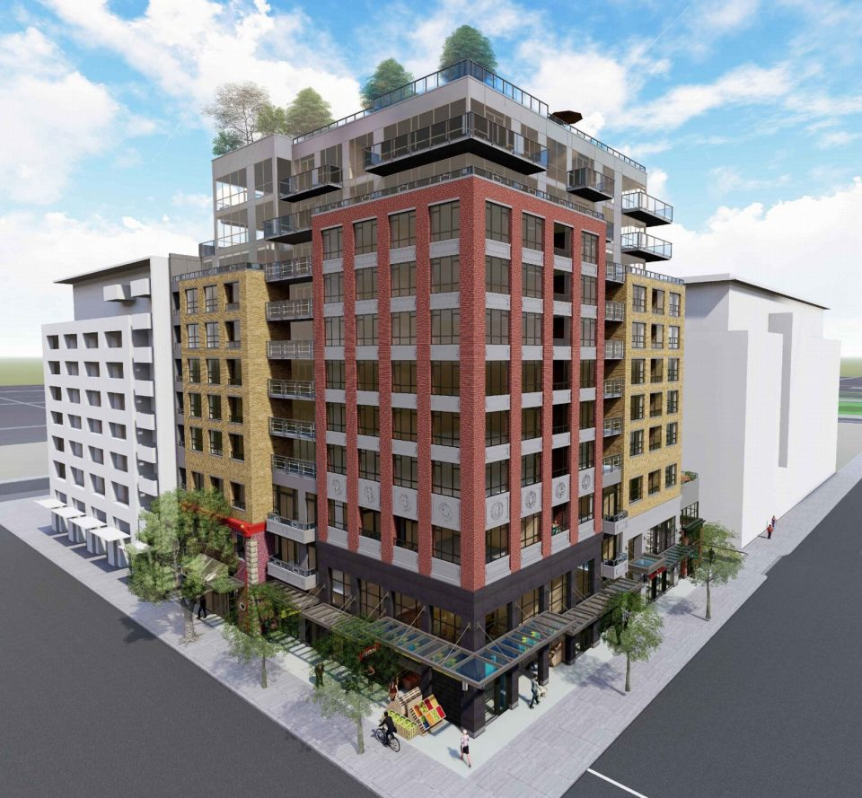 728-796 Main Street Main and Union rendering