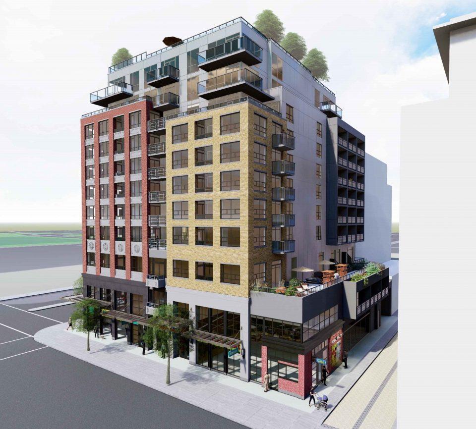 728-796 Main Street Union Street rendering