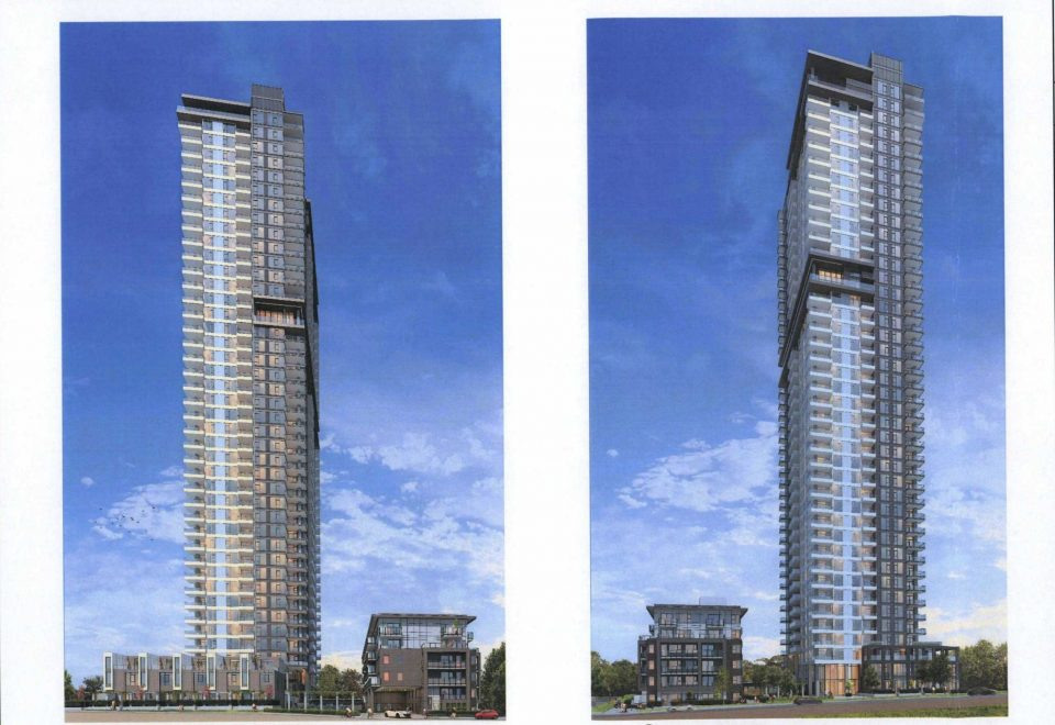 42-storey tower planned by Anthem for Cottonwood Ave. in Coquitlam