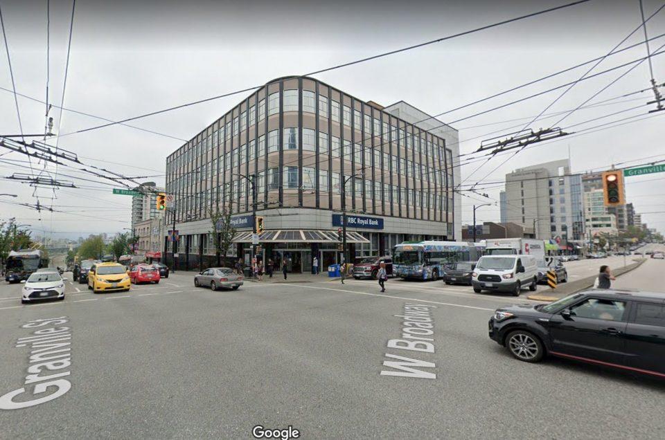 Broadway Granville office building demolished