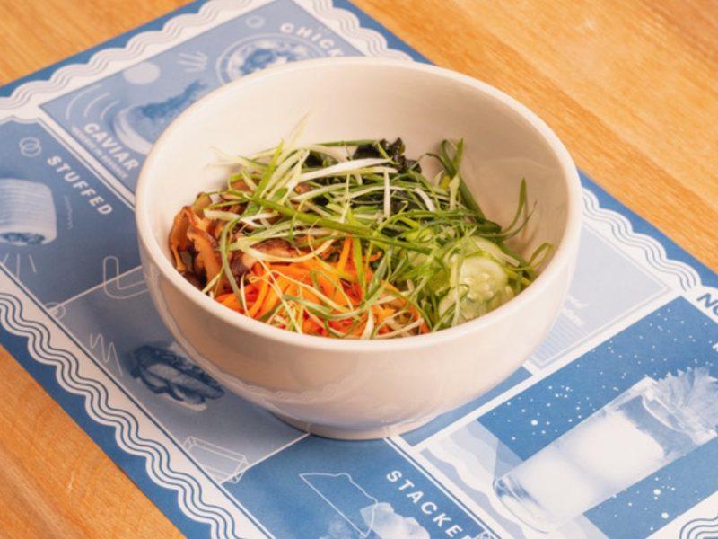 Momofuku Noodle Bar dish