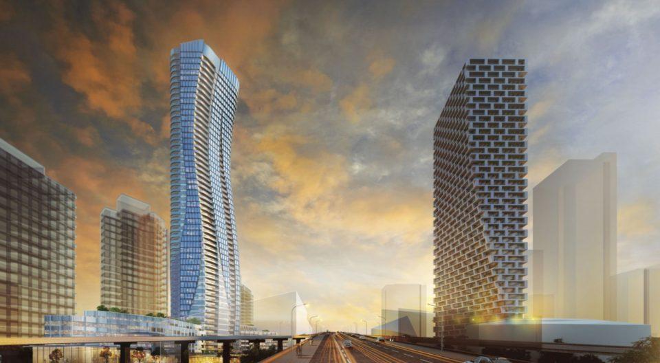 Pinnacle Beach Crescent tower rendering