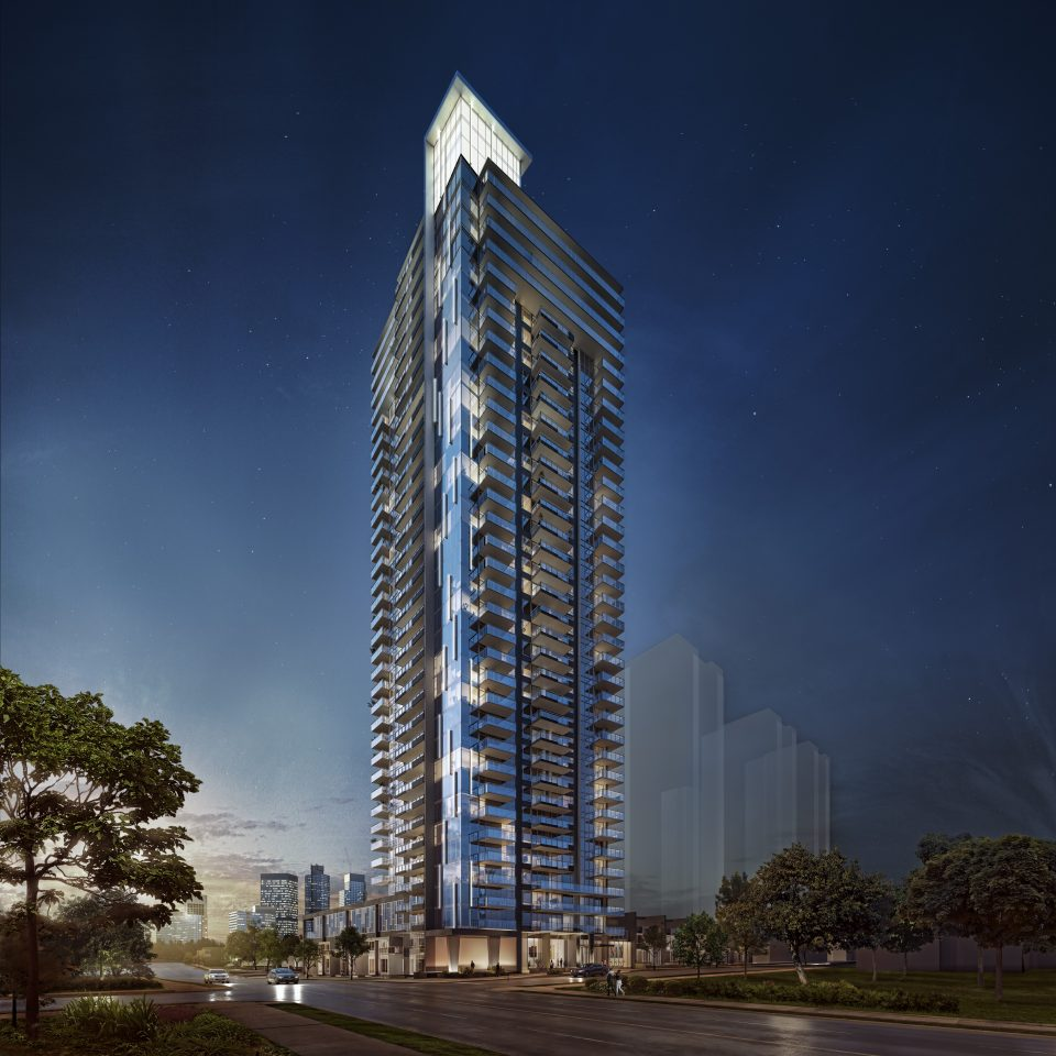 Developers team up to complete Polaris tower in Burnaby