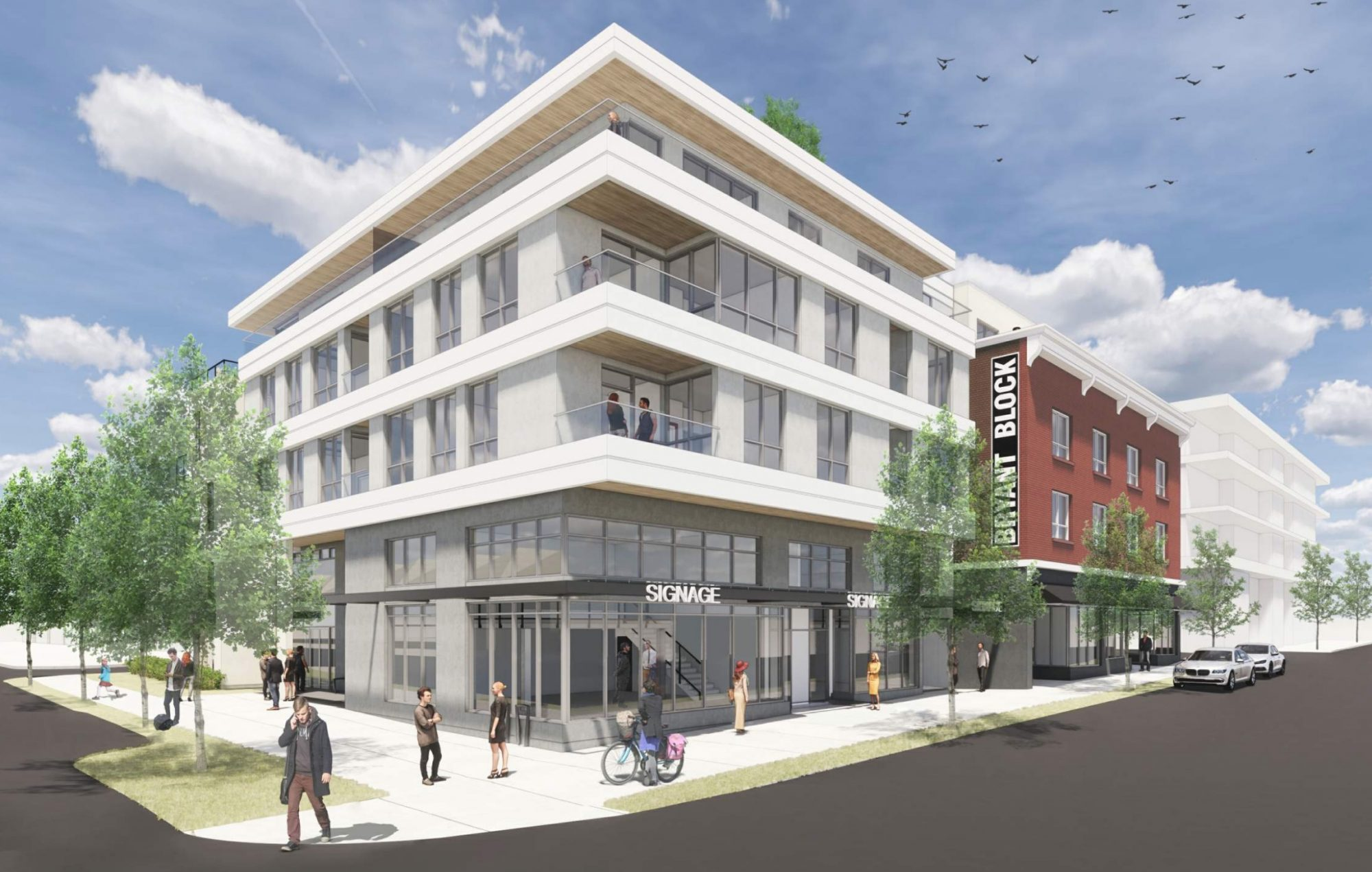 Addition to heritage building at Main & 19th in Mount Pleasant