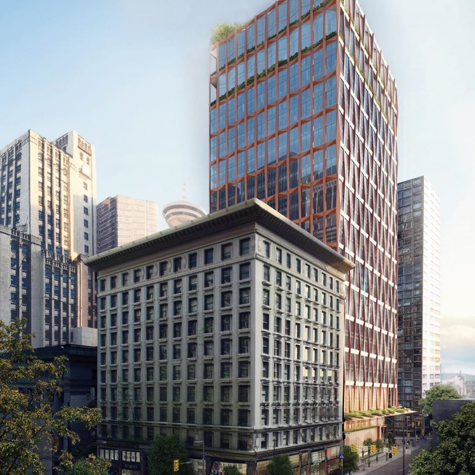 601 West Pender rendering