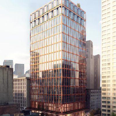 601 West Pender rendering