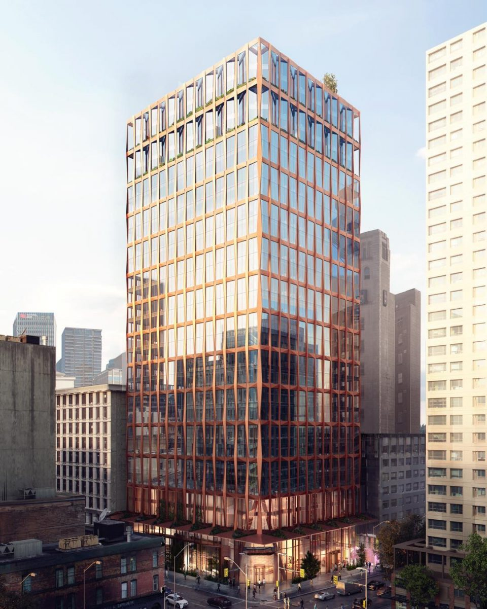 New York-based architect designs Vancouver's latest office tower