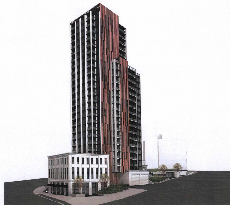 901 Lougheed Hwy tower rendering