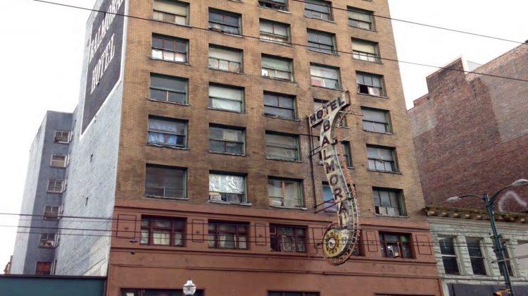 Balmoral Hotel Downtown Eastside
