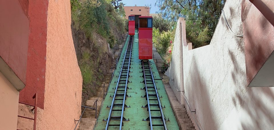 One ticket for the White Rock funicular?