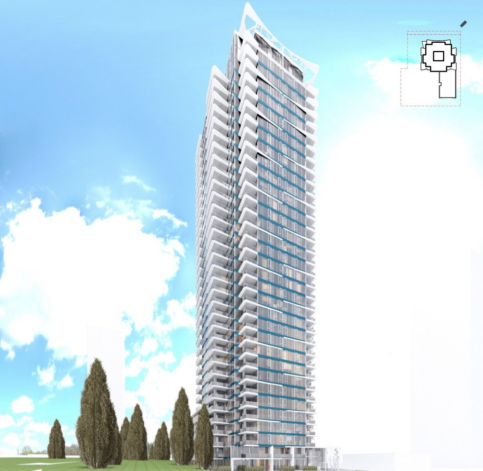 Ledingham McAllister plans The Bennett at Metrotown