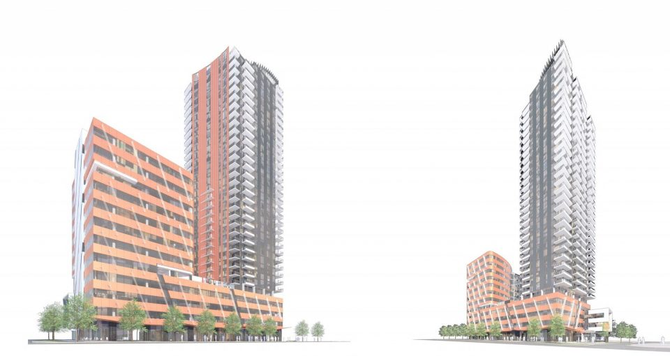 Vivagrand tower Oakridge rendering
