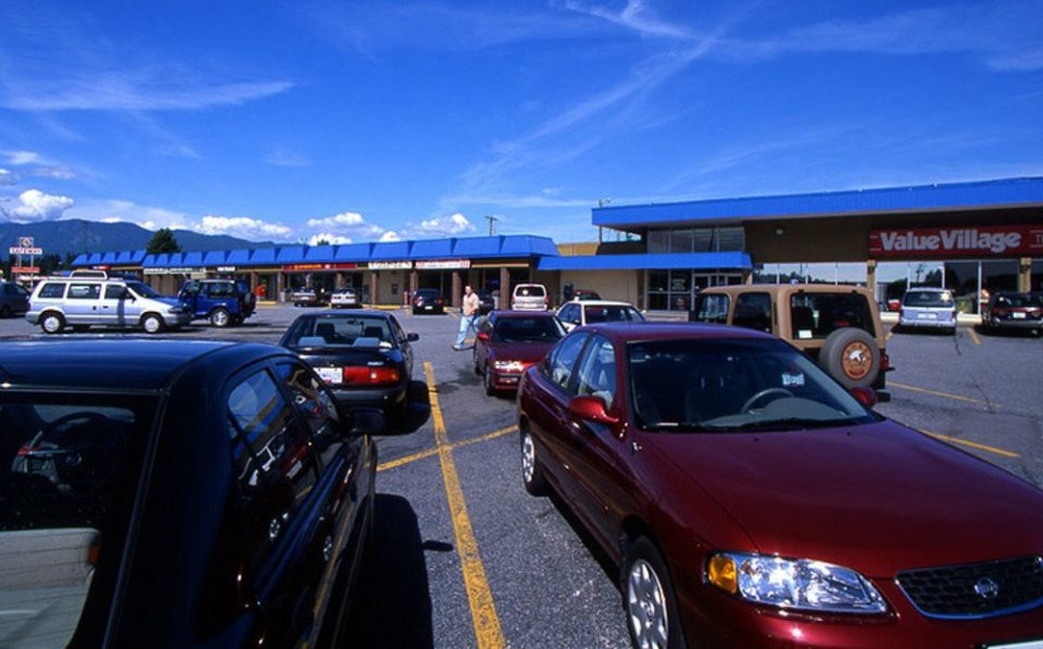 Burquitlam Plaza parking