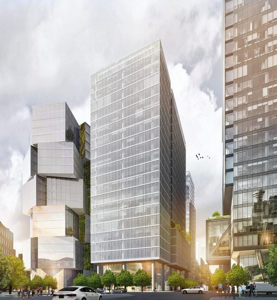 FIRST LOOK: Renderings of new office tower at West Georgia and Richards