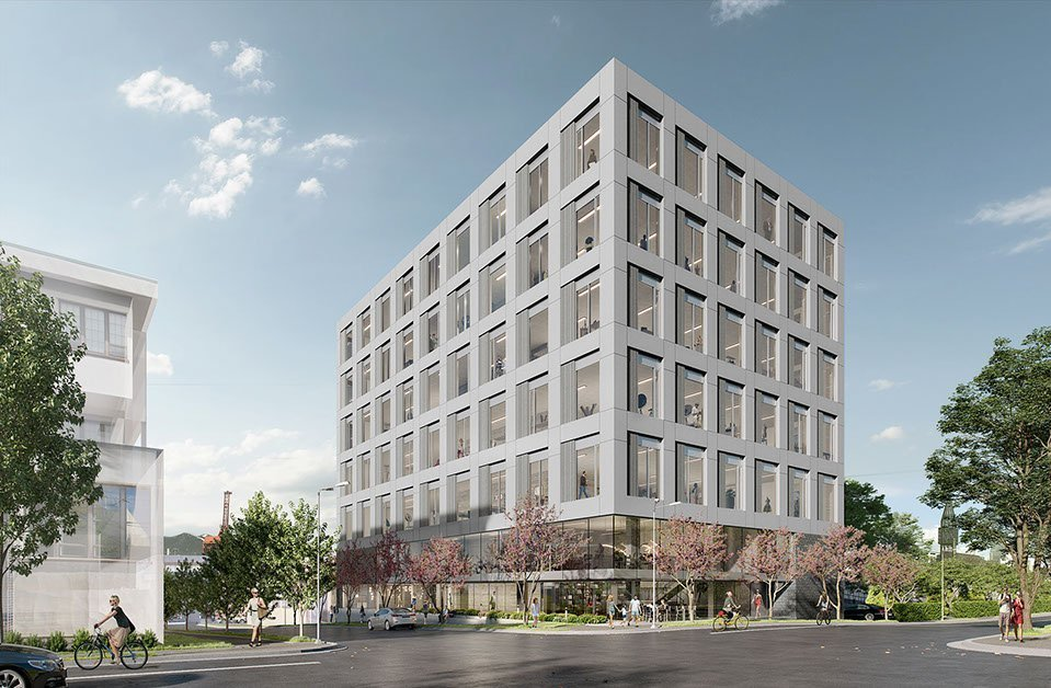 Six-storey, mixed-use building for Railtown