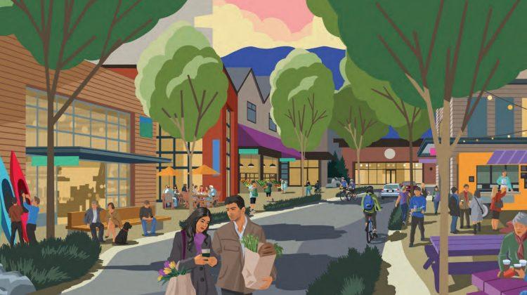 Capilano Mall redevelopment concept