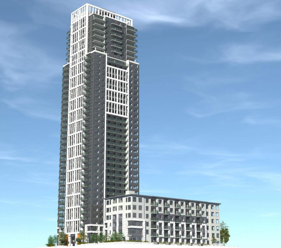 Intracorp moves forward with 37-storey tower at Metrotown
