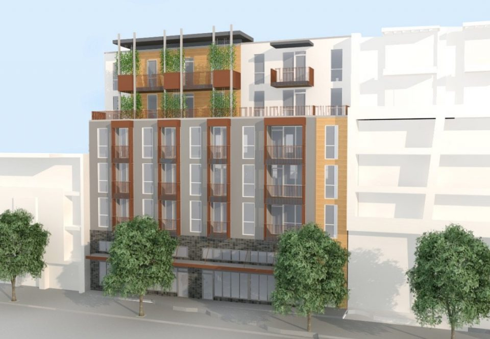 Upcoming Kingsway rental building minimizes parking