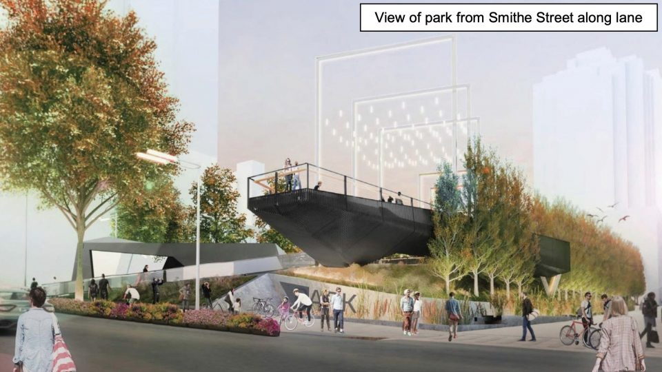 Construction begins January 1 on new park at Smithe & Richards