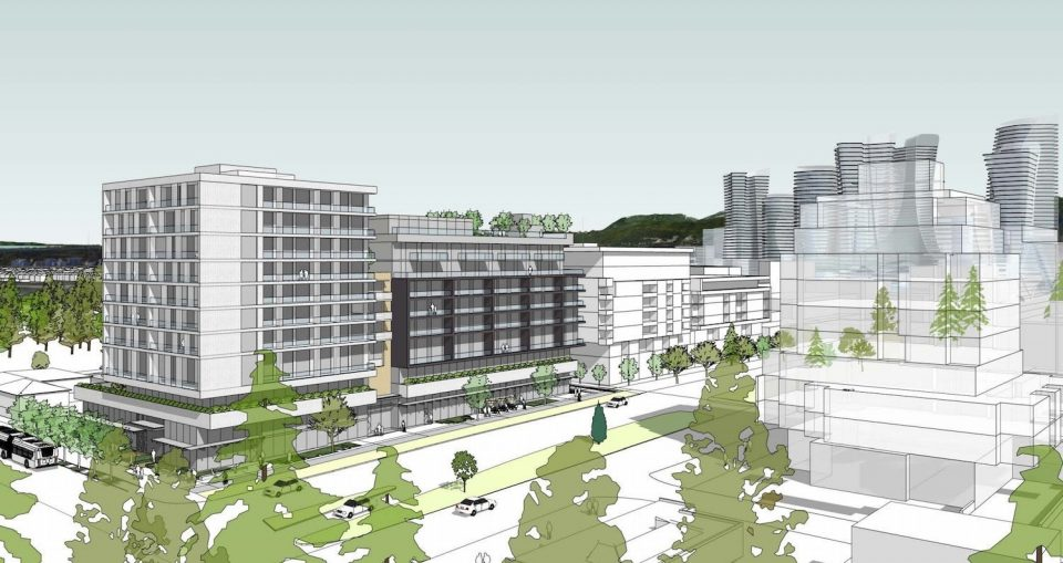 Gryphon Development proposes 10-storey building at Cambie and W. 49th