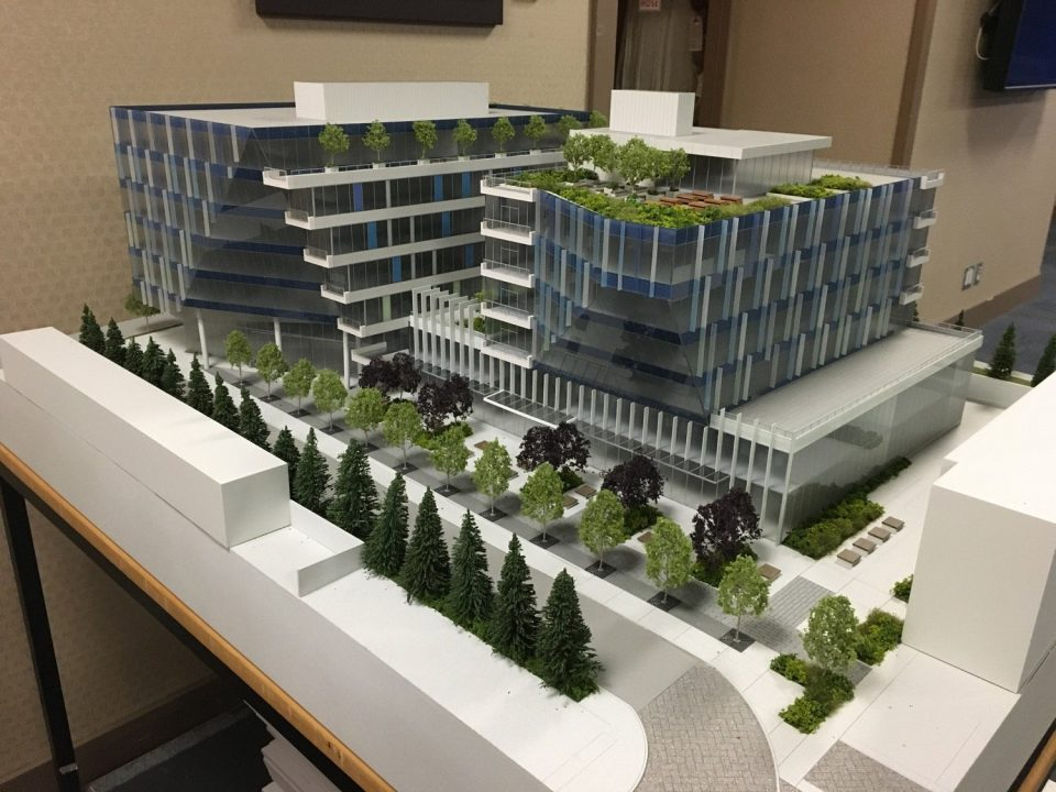New college and office building slated for Broadway Tech Park