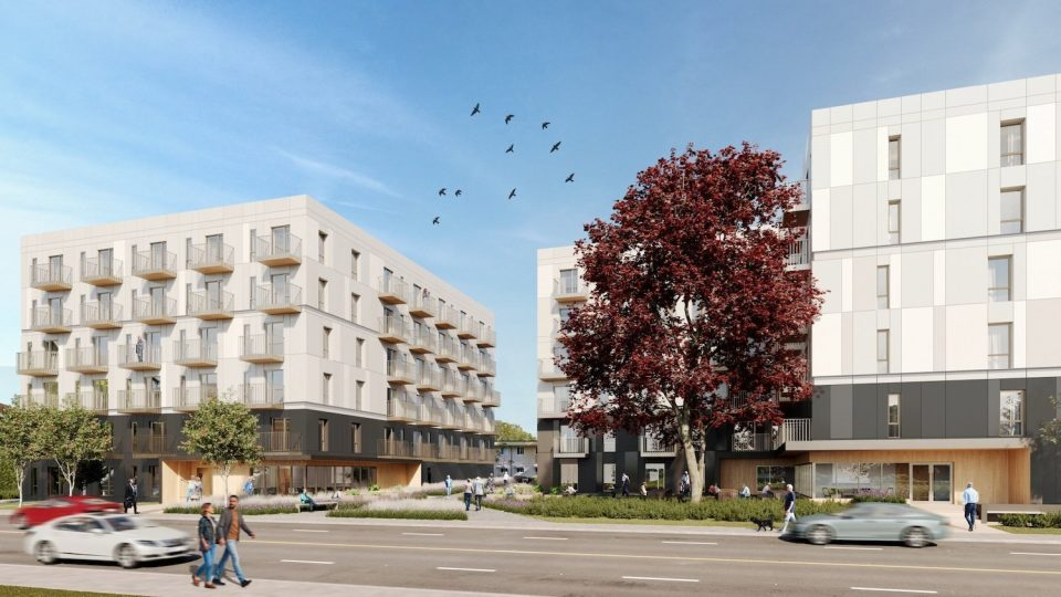 100 new social housing units for East 12th Avenue site