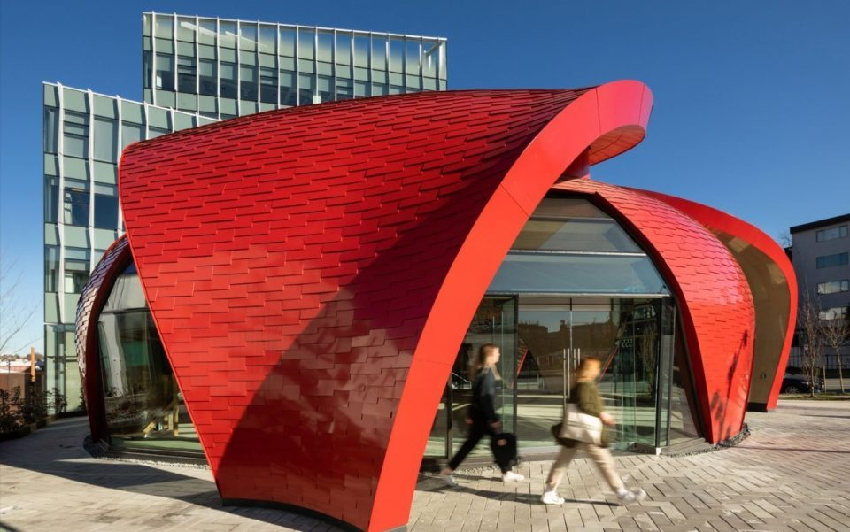 Great Northern Way Pavillon wins two construction awards