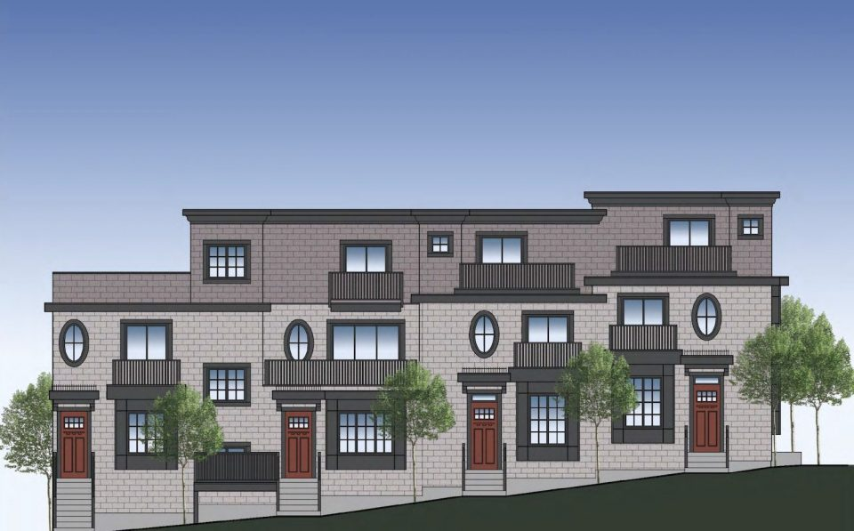 Family hopes to build four townhouses at Granville and West 61st