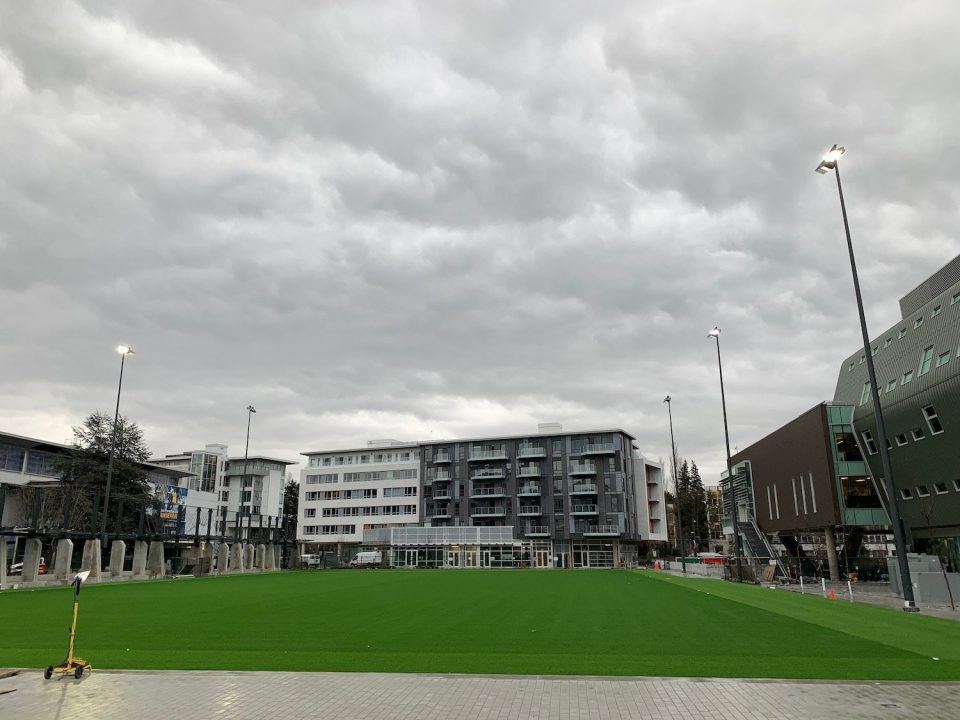 New MacInnes Field at UBC