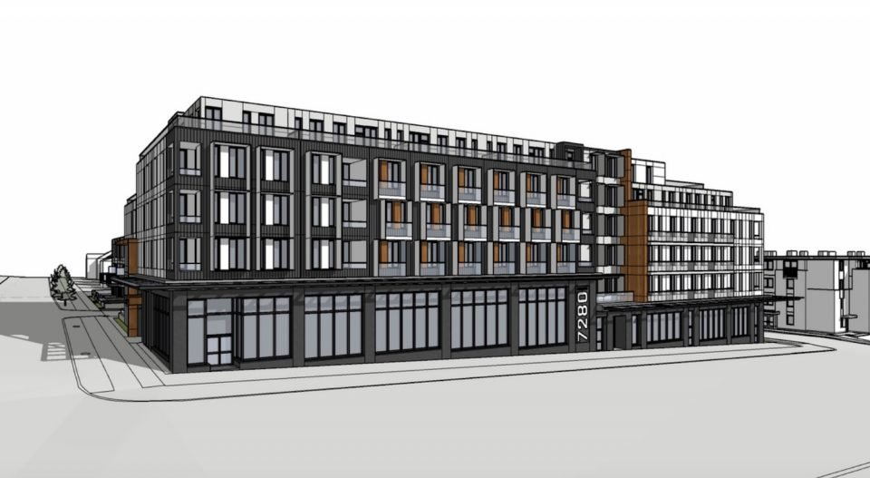 Fraser and East 56th rental apartments