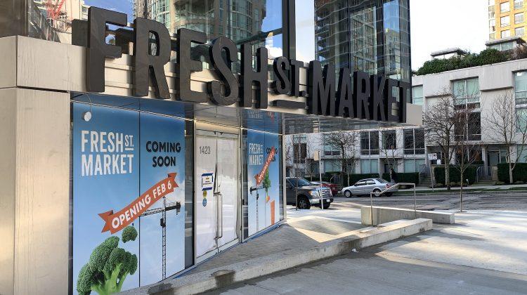 Fresh St Market opening date