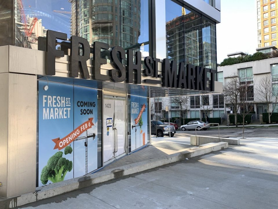 Fresh St. Market & London Drugs open this week at Vancouver House