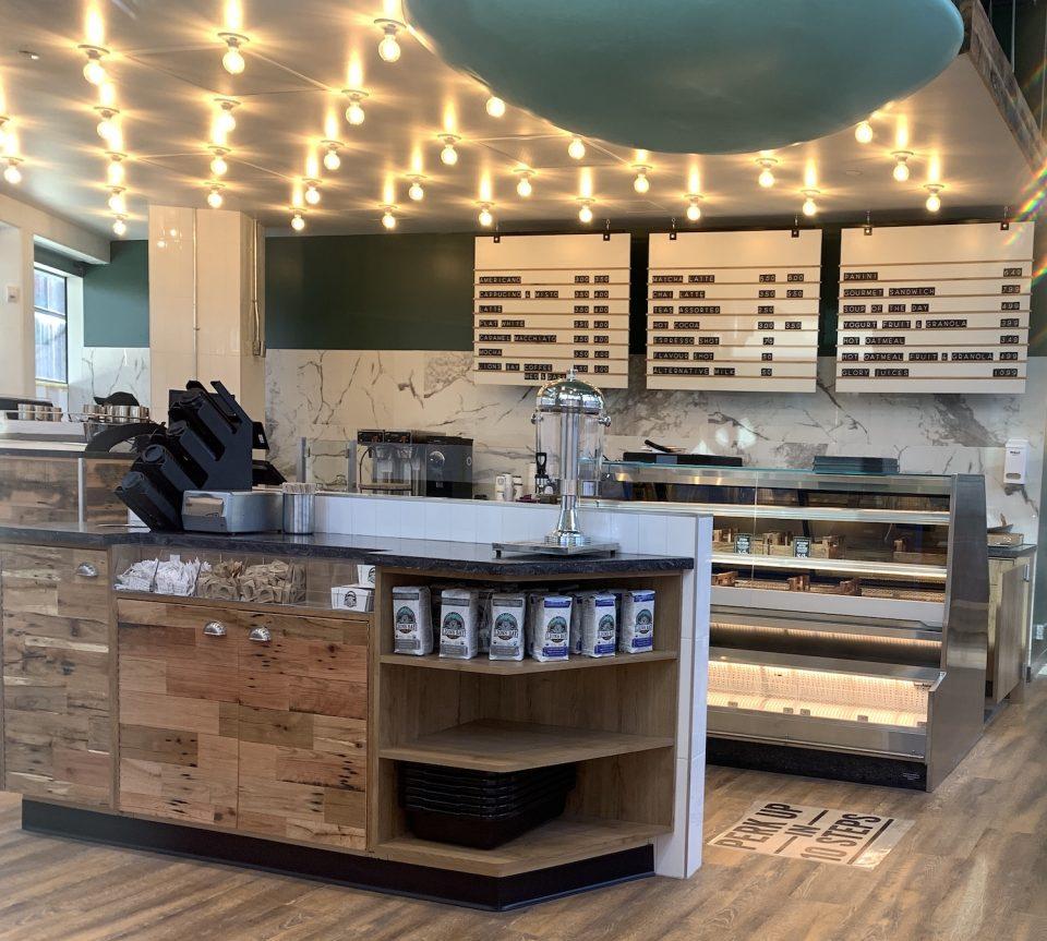 Fresh Street Market Vancouver House cafe