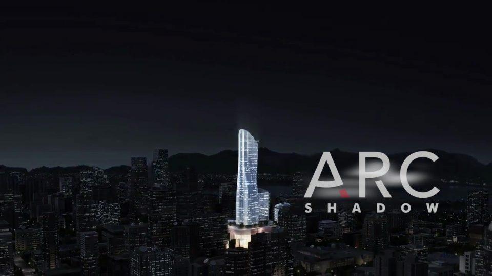 Tower rendering night