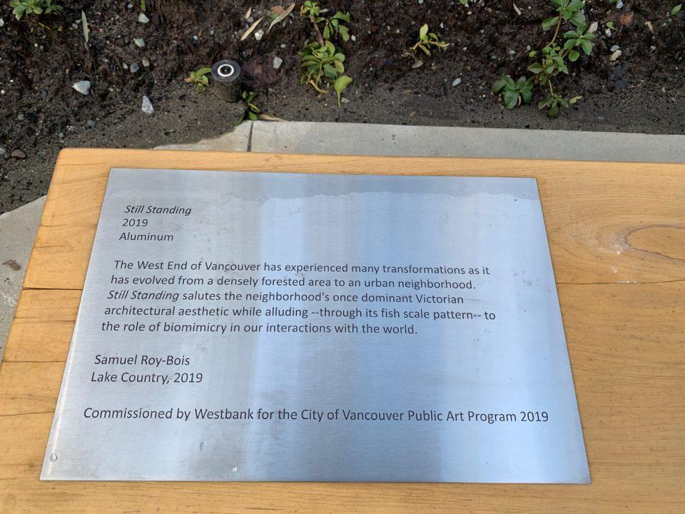 Pendrell Westbank public art