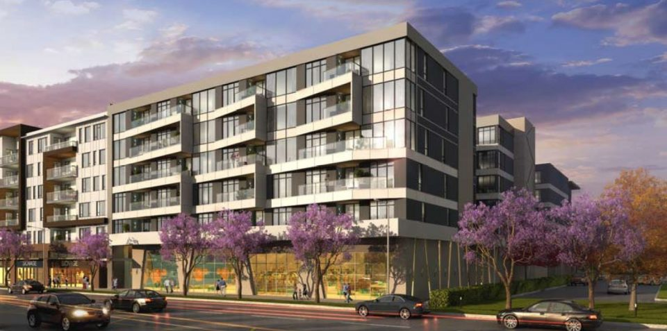 Condos, rental and non-market on St. Johns in Port Moody