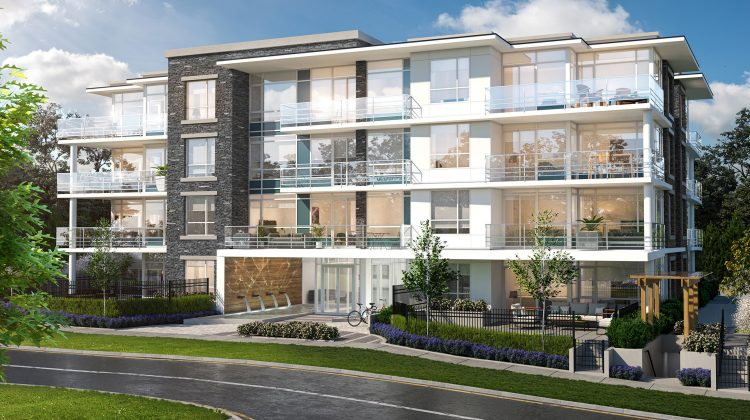 The Marq exterior rendering