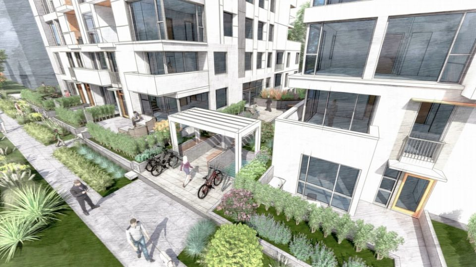 7730-7770 Cambie Street rendering