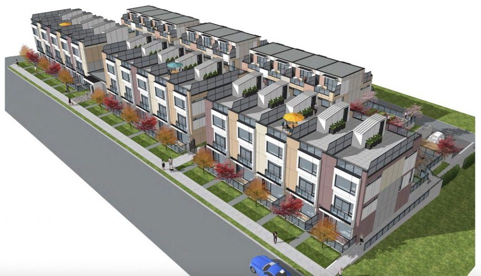 Stacked townhomes bring major densification to Cambie Corridor