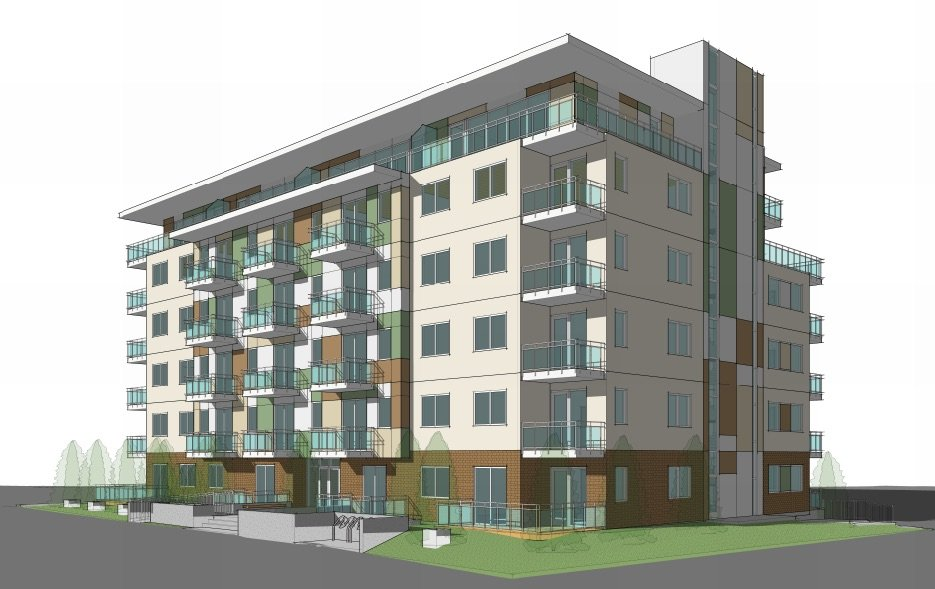 Six-storey condo building slated for East Broadway & Garden Drive