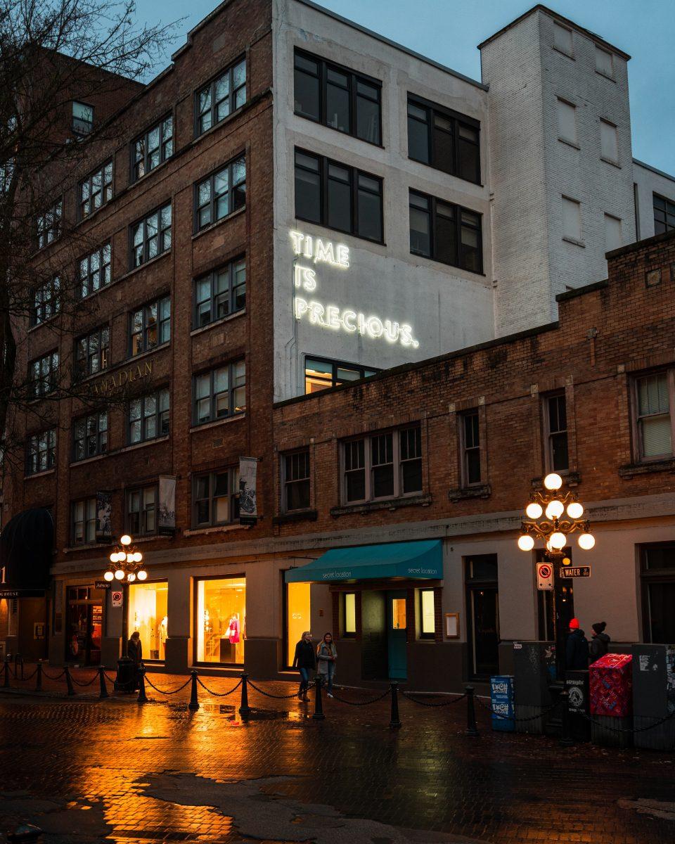 Best neigbourhoods downtown Vancouver: Gastown