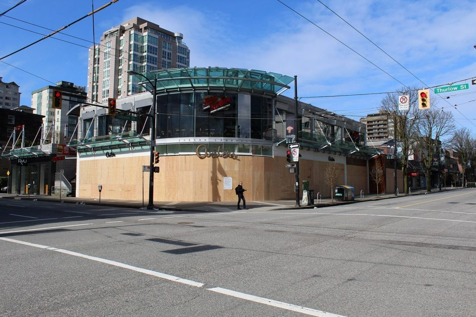 IN PHOTOS: Deserted downtown Vancouver during the COVID-19 pandemic