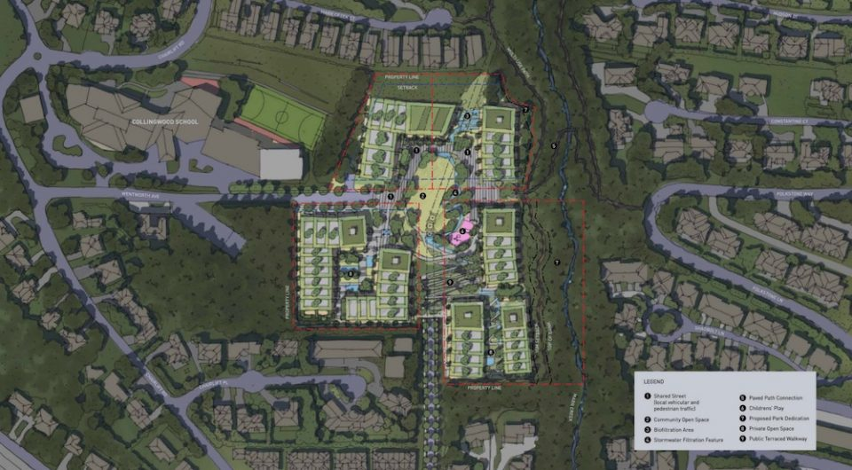 Wentworth Lands site plan