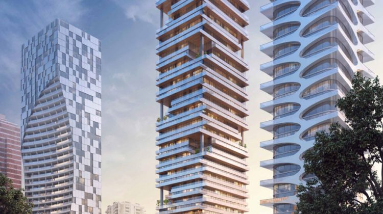 1640-1650 Alberni tower rendering