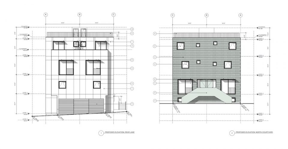 1660 East 5th Avenue elevations