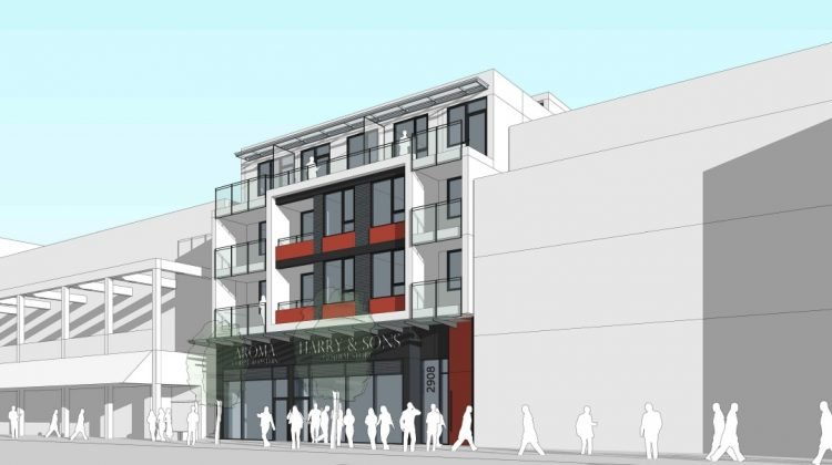 2908 West 4th Avenue Vancouver rendering