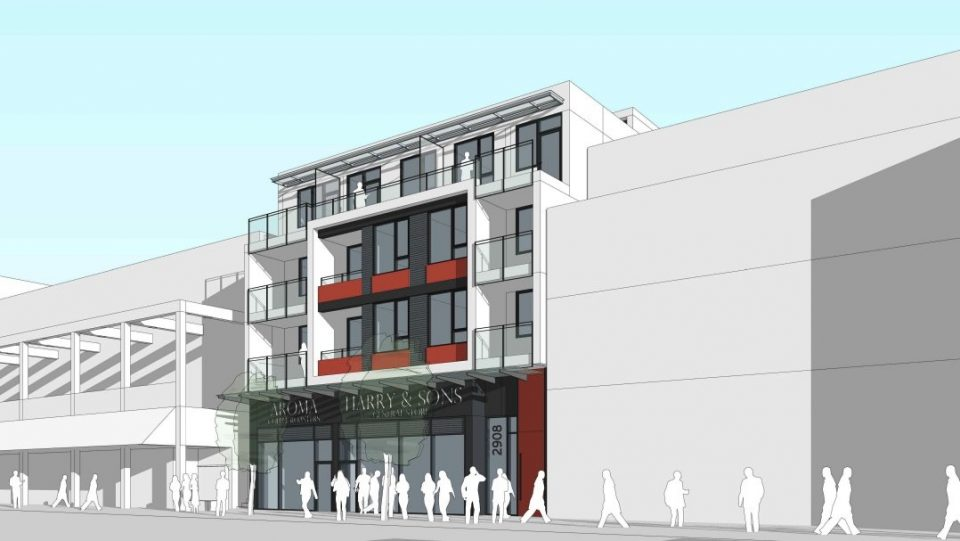 Small residential building proposed for former site of Topanga Cafe