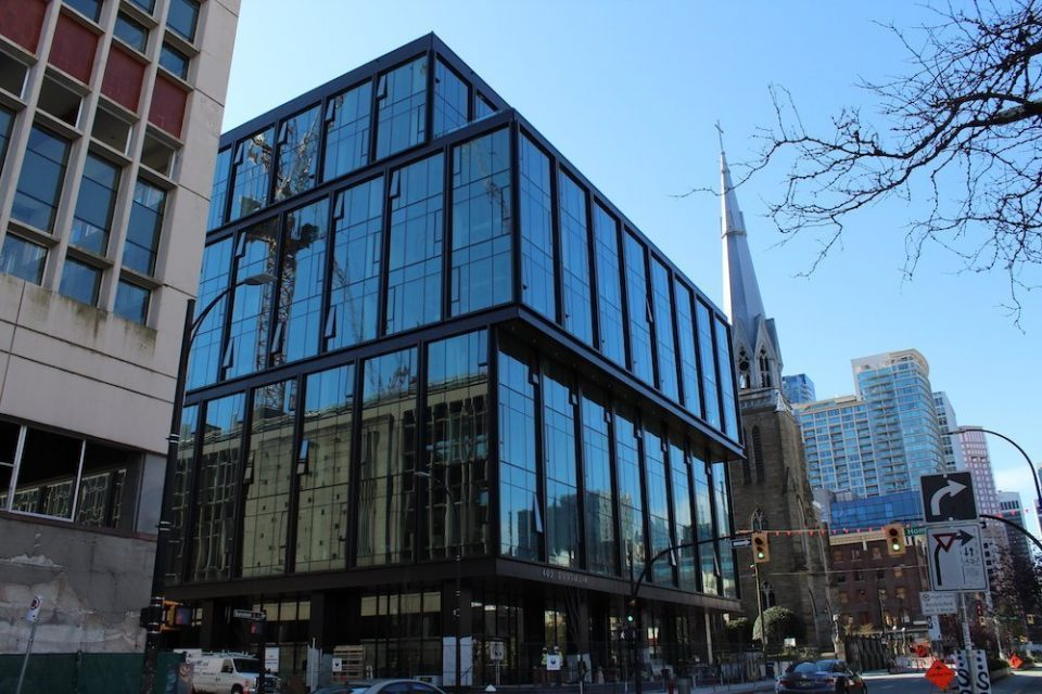 New Amazon office in downtown Vancouver nearly complete