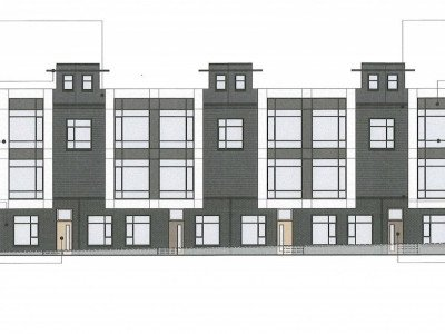 47th and Oak development materials and colours
